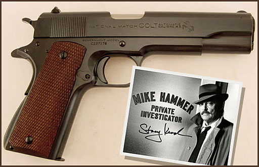 Colt 45 ACP -  Mike Hammer